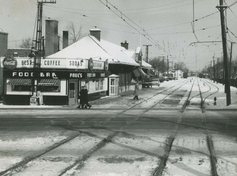 L&PS St. Thomas Depot in Winter