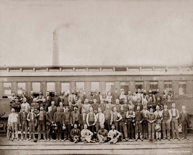 MCR staff before car and power house