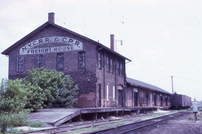 NYC CPR Freight Shed St Thomas 07-19-74